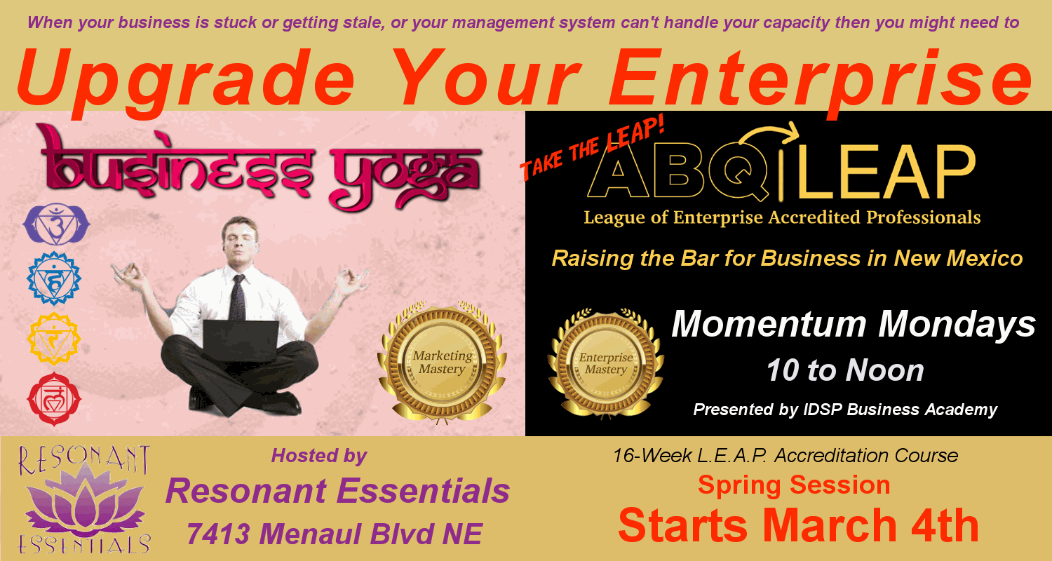 Business Yoga Marketing Mastery XpanZion Enterprise Mastery Training